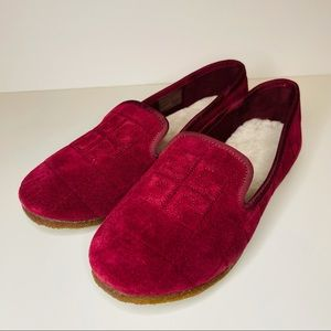 TORY BURCH COWLEY QUILTED SLIPPERS SZ 8